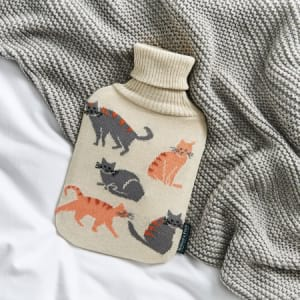 Hot Water Bottle Jerry Cats