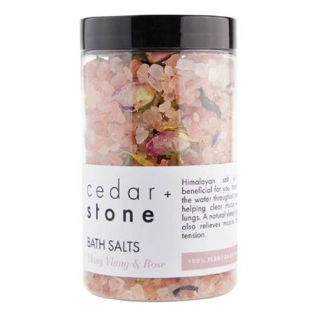 Cedar and Stone Bath Salts