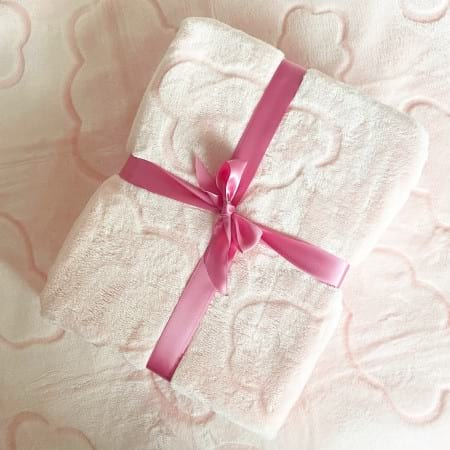 Soft Baby Blanket Pink