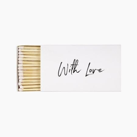 Large `With Love` Matchbox