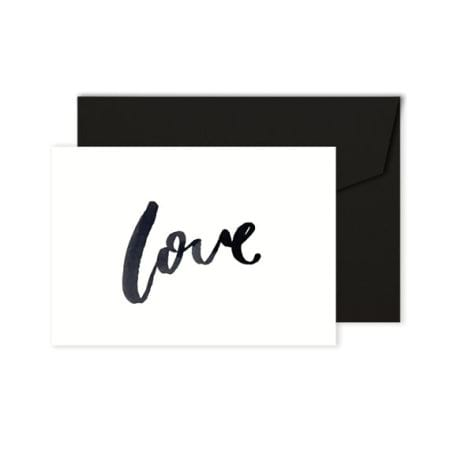 Love Card - Black