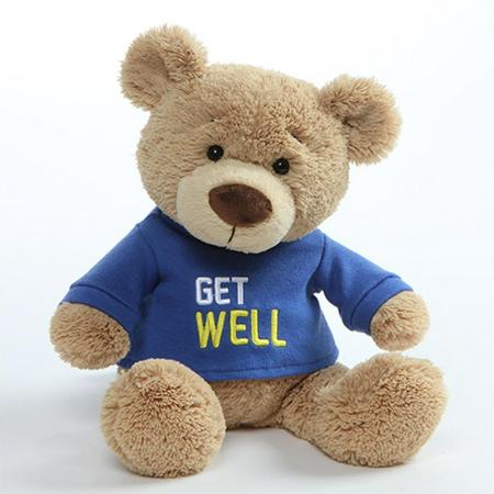 Get Well Soon Bear Blue