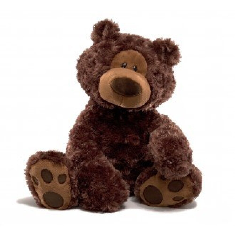 Philbin Bear Dark Brown