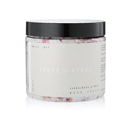 Drift Off Sandalwood and Rose Bath Salts