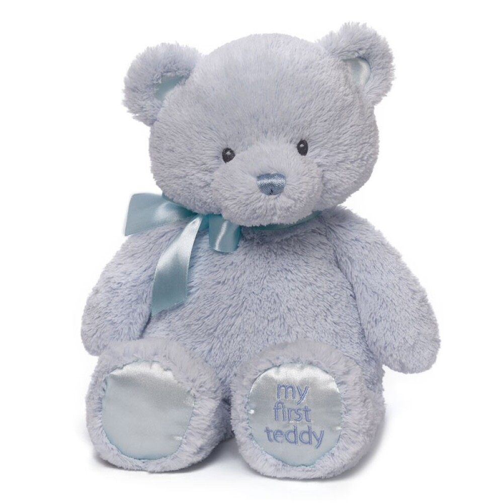 My First Teddy Blue 38cm