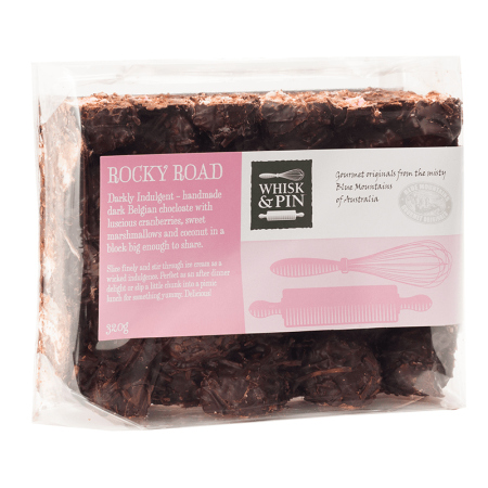 Whisk & Pin Rocky Road Block 320g
