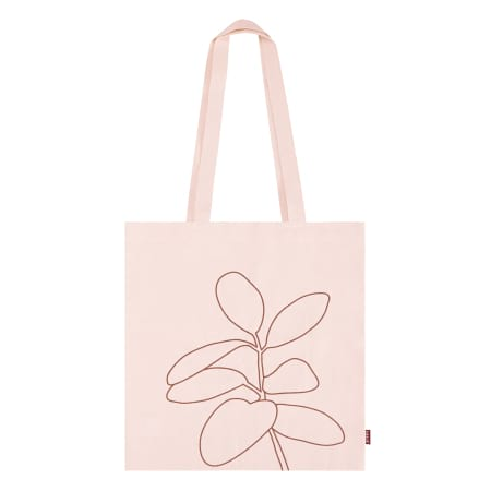 Blush Canvas Tote