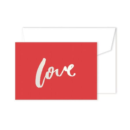 Love Card - Red