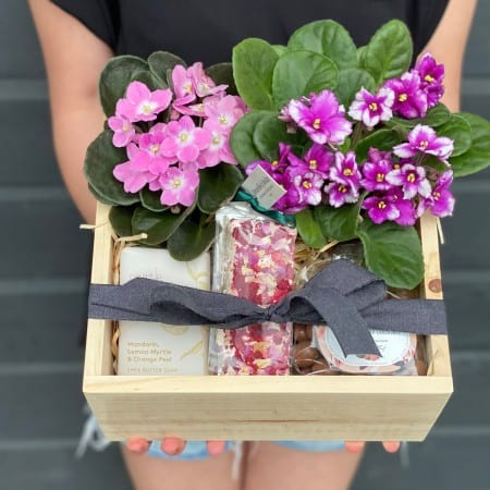 Sweet Violets Hamper