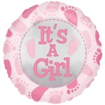 It`s a Girl Balloon