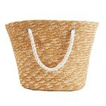 Natural Tote with Rope Handles