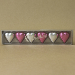 Chocolatier 6 Pack of Hearts